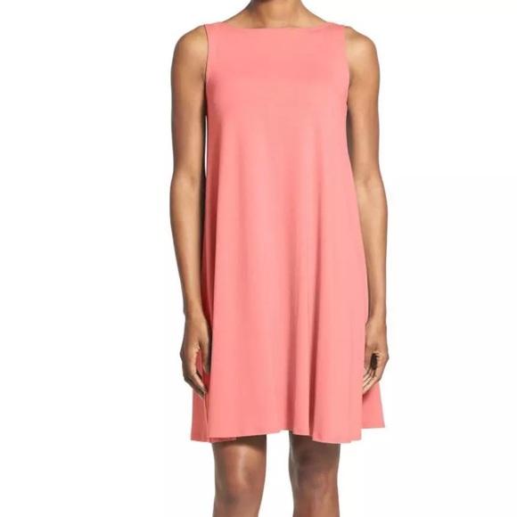 e22b3ad635e2 Eileen Fisher Dresses | Lightweight Jersey Shift Dress | Poshmark